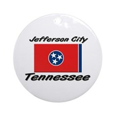 Jefferson City Tennessee Ornament (Round)