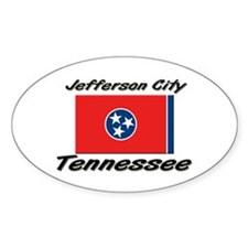 Jefferson City Tennessee Oval Decal