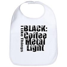 BLACK METAL Bib