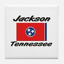 Jackson Tennessee Tile Coaster