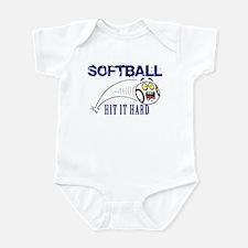 Hit It Hard Infant Bodysuit