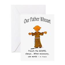 Preach the Gospel Greeting Card