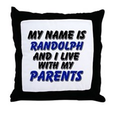 my name is randolph and I live with my parents Thr