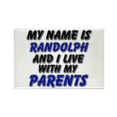 my name is randolph and I live with my parents Rec