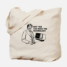 Dudes Rock the Technology Tote Bag