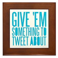 Tweet About Framed Tile