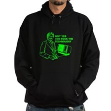 Dudes Rock the Technology Hoodie