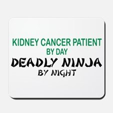 Kidney Patient Deadly Ninja Mousepad