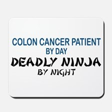 Colon Patient Deadly Ninja Mousepad