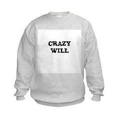 CRAZY WILL Sweatshirt