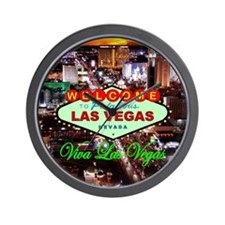 Las Vegas Strip Wall Clock