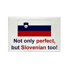 "Perfect Slovenian Magnet (3""x2"")"