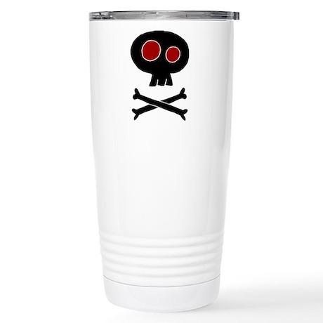 Cute Skull Stainless Steel Travel Mug