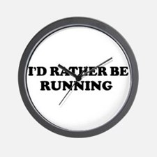 Rather be Running Wall Clock