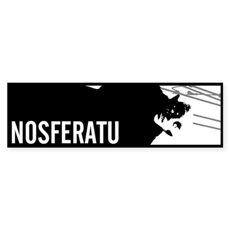 Nosferatu: Count Orlok Bumper Sticker