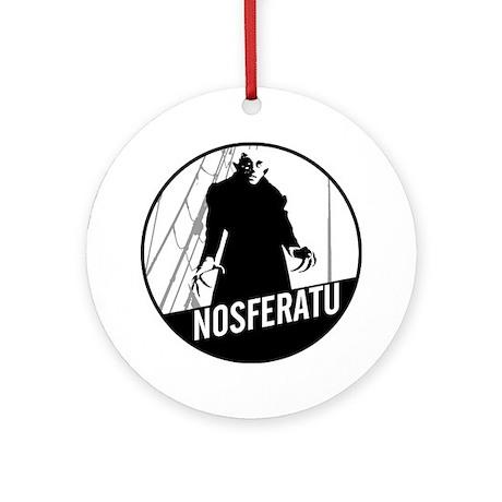 Nosferatu: Count Orlok Ornament (Round)