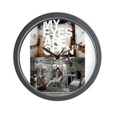 Cute Meat is murder Wall Clock