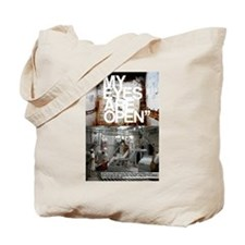 Cute Meat murder Tote Bag