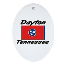 Dayton Tennessee Oval Ornament