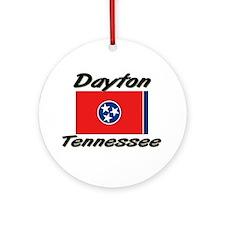 Dayton Tennessee Ornament (Round)