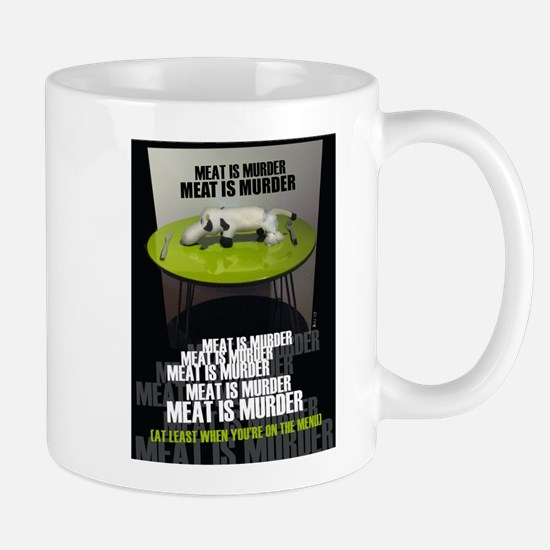 meat is murder 453 Mugs