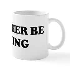 Rather be Rowing Mug