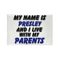 my name is presley and I live with my parents Rect