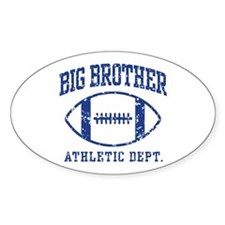 Big Brother 09 Oval Decal