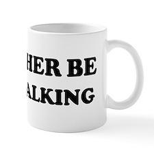 Rather be Racewalking Mug