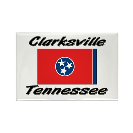 Clarksville Tennessee Rectangle Magnet (10 pack)