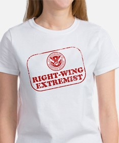 Right-wing Extremist Women's T-Shirt