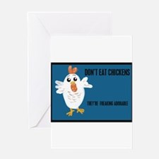 Meat murder Greeting Card