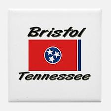 Bristol Tennessee Tile Coaster