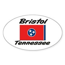Bristol Tennessee Oval Decal