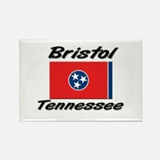Bristol Tennessee Rectangle Magnet