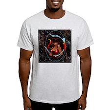 Mars (Color) Ash Grey T-Shirt