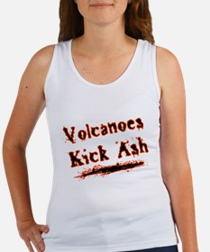 Volcanoes Kick Ash Women's Tank Top