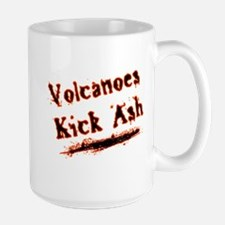 Volcanoes Kick Ash Mug