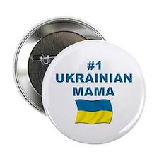 "#1 Ukrainian Mama 2.25"" Button"