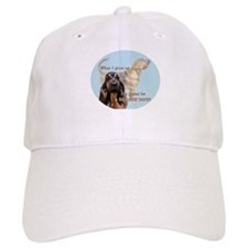bloodhound grows up Baseball Cap