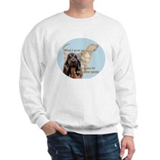 bloodhound grows up Sweatshirt