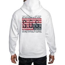 American Distress Hoodie
