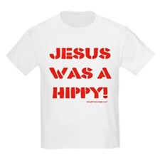 Jesus was a Hippy T-Shirt