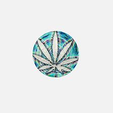 Unique Weed 420 Mini Button