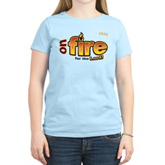 On Fire for the Lord 2 red T-Shirt