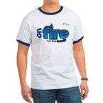On Fire for the Lord 2 blue Ringer T