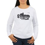 On Fire for the Lord 2 black Women's Long Sleeve T