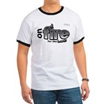 On Fire for the Lord 2 black Ringer T