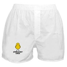 Genealogy Chick Boxer Shorts