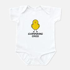 Gardening Chick Infant Bodysuit